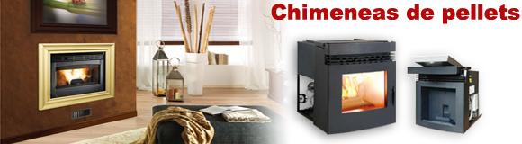 Venta de chimeneas de pellets precios pvp iva y entrega for Chimeneas pellets precios