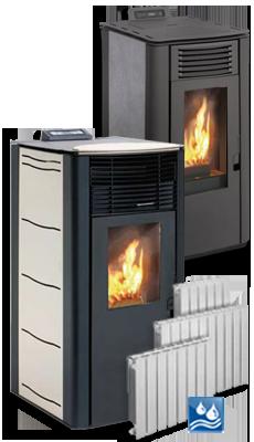 estufas y calderas de pellets biomasa precios con iva